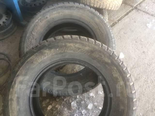 Dunlop Grandtrek SJ5. Зимние, без шипов, износ: 30%, 2 шт