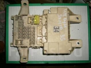 Блок предохранителей салона. Toyota Ipsum, SXM10 Двигатель 3SFE