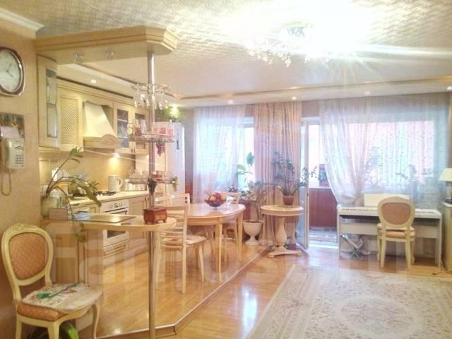 4-комнатная, улица Хабаровская 33а. Железнодорожный, агентство, 80 кв.м. Интерьер