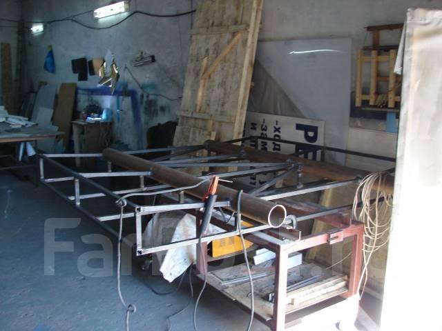 Изготовление различных металлоконструкций.
