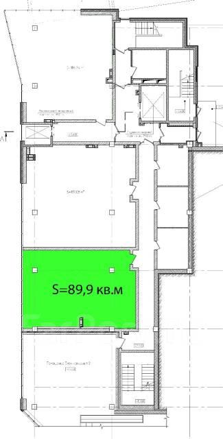 3-комнатная, переулок Некрасовский 28. Центр, частное лицо, 89 кв.м. План квартиры
