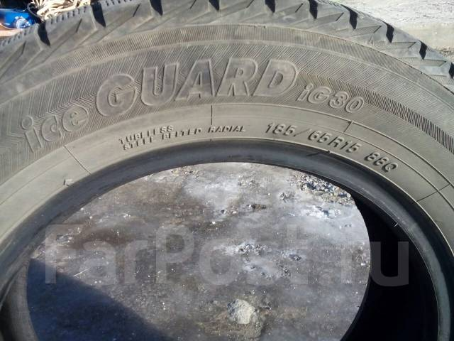 Yokohama Ice Guard IG30. Зимние, без шипов, 2011 год, износ: 5%, 4 шт