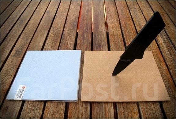 Нож-визитка CardSharp 2