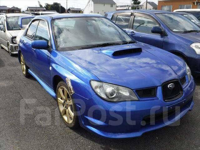 Дверь боковая. Subaru Impreza WRX STI, GDB