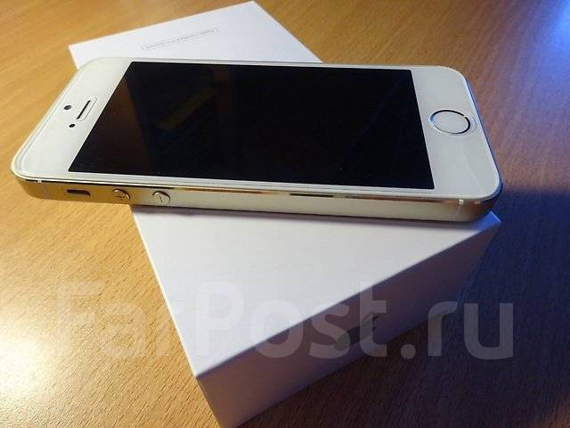 Apple iPhone 5s. Новый