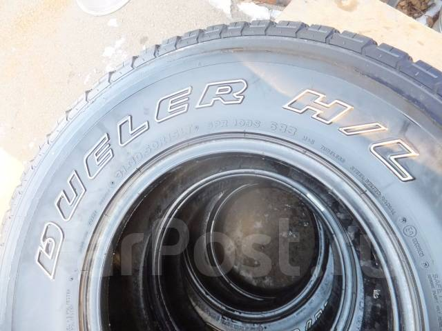 Bridgestone Dueler H/L. Летние, 2007 год, износ: 10%, 4 шт. Под заказ
