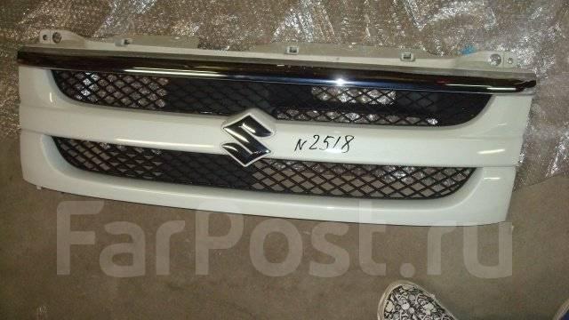 Решетка радиатора. Suzuki Wagon R Solio, MA34S, MA64S Двигатели: M13A, K10A