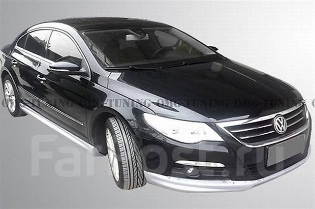 Обвес кузова аэродинамический. Volkswagen Passat CC Двигатель CCZB