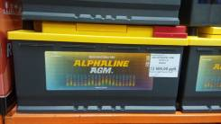 Alphaline. 95 А.ч., левое крепление, производство Корея