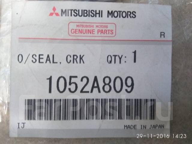 Сальник коленвала. Mitsubishi Lancer Evolution, CZ4A Mitsubishi Outlander, CW5W Mitsubishi Delica, CV5W Mitsubishi Galant Fortis, CZ4A