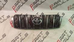Решетка радиатора. Toyota Land Cruiser Prado, GDJ150W, TRJ150, KDJ150L, GRJ150W, TRJ150W, GDJ150L, GRJ150, GRJ150L Двигатели: 1GRFE, 1GDFTV, 2TRFE, 1K...