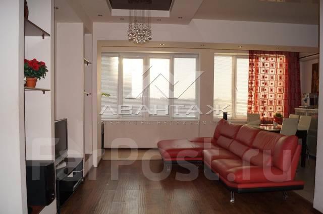 3-комнатная, улица Полетаева 6б. Седанка, агентство, 72 кв.м. Комната