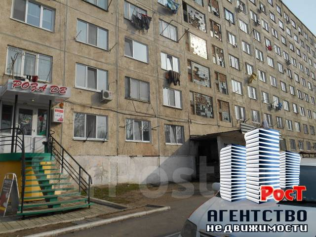 Гостинка, улица Фрунзе 54. Комсомольская, агентство, 17 кв.м. Дом снаружи