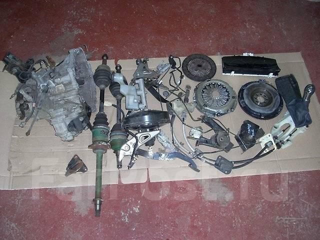 Механическая коробка переключения передач. Toyota Corolla, ZZE130, ZZE120, ZZE132, ZZE121, ZZE122, ZZE111, ZZE112, ZZE123 Toyota Corolla Fielder, ZZE1...