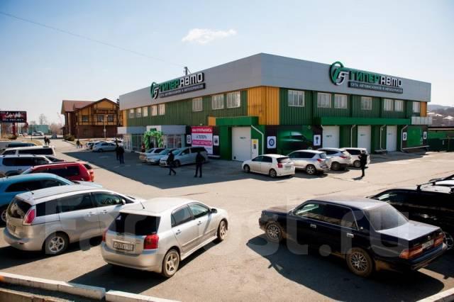 Продам здание с действующим арендатором. Проспект Находкинский 109, р-н южный, 1 348 кв.м. Дом снаружи