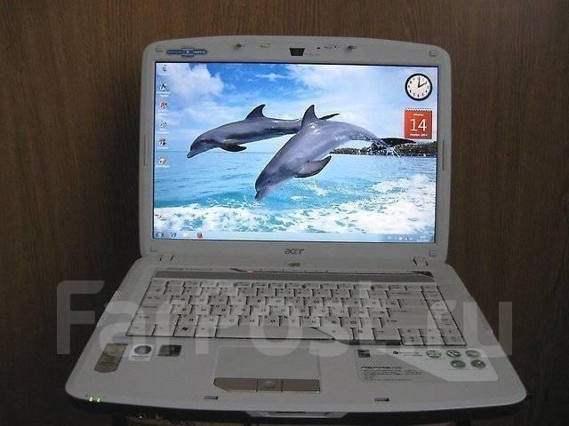 """Acer Aspire 5720. 15.4"""", 2,2ГГц, ОЗУ 2048 Мб, диск 160 Гб, WiFi, Bluetooth, аккумулятор на 1 ч."""