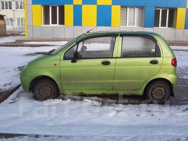 Daewoo Matiz. автомат, передний, 0.8 (52 л.с.), бензин, 85 800 тыс. км