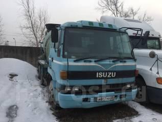 Isuzu V275. Миксер Isuzu, 14 000 куб. см.