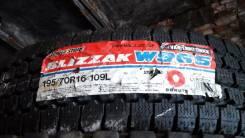 Bridgestone Blizzak W965. Зимние, без шипов, 2017 год, без износа, 1 шт