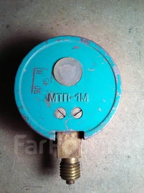 МТП-1М – манометр, компрессометр без фланца с радиальным штуцером