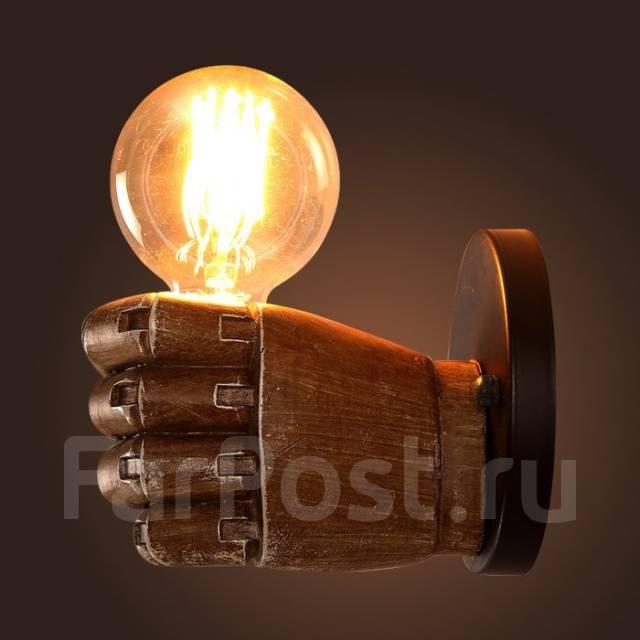 Светильник настенный в стиле лофт. Под заказ
