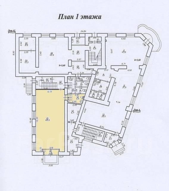 Сдается в аренду торговая площадь по адресу ул. Дзержинского,28. 77 кв.м., улица Дзержинского 28, р-н Центральный