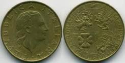 Италия 200 лир 1993 год (иностранные монеты)