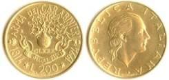 Италия 200 лир 1994 год (иностранные монеты)