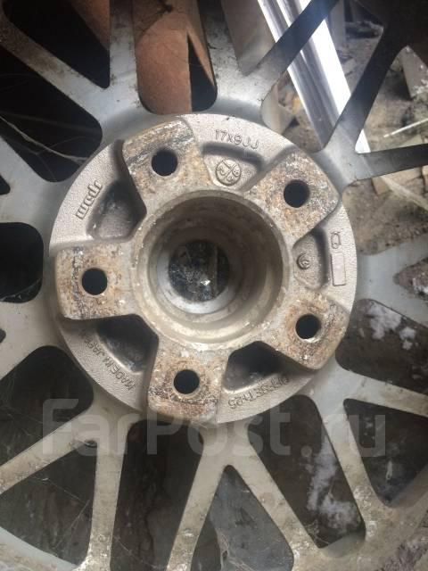 Диски R17 с резиной. 9.0x17 3x98.00, 5x114.30 ET25 ЦО 70,0мм.