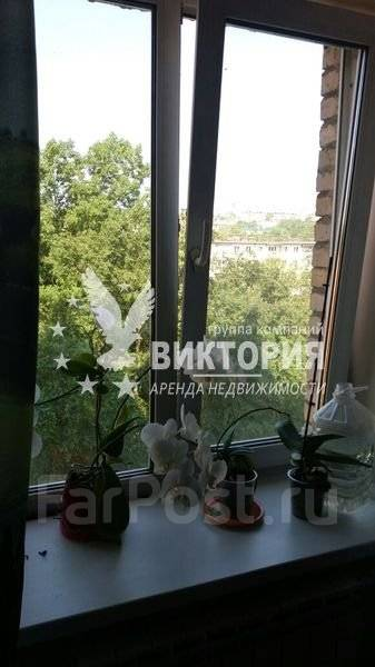 3-комнатная, улица Русская 64. Вторая речка, агентство, 67 кв.м. Вид из окна днем