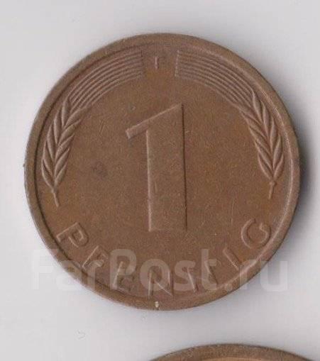1 пфенниг 1974г. (F) ФРГ