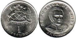 Чили 1 эскудо 1971 год