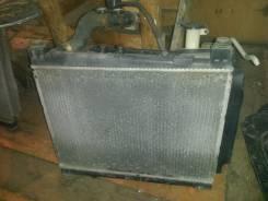 Радиатор охлаждения двигателя. Toyota Probox, NCP51, NCP50 Двигатели: 2NZFE, 1NZFE