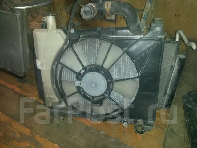 Радиатор охлаждения двигателя. Toyota Probox, NCP51, NCP50, NCP51V, NCP50V Двигатели: 2NZFE, 1NZFE