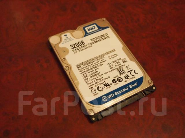 Жесткие диски 2,5 дюйма. 299 Гб, интерфейс SATA