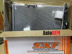 Радиатор охлаждения двигателя. Chevrolet Lanos Daewoo Lanos, KLAT Daewoo Sens, T100 ЗАЗ Шанс Двигатели: MEMZ307, F14D4, A15SMS, A16DMS, A14SMS. Под за...