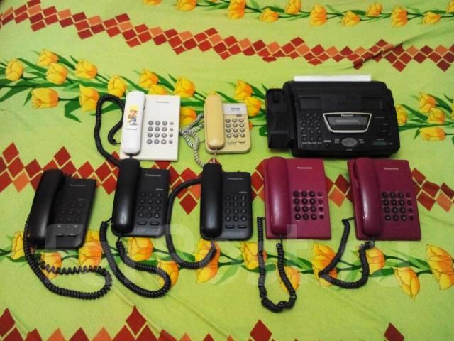 Девять телефонов по цене одного! 7 стационарных 2 факса!