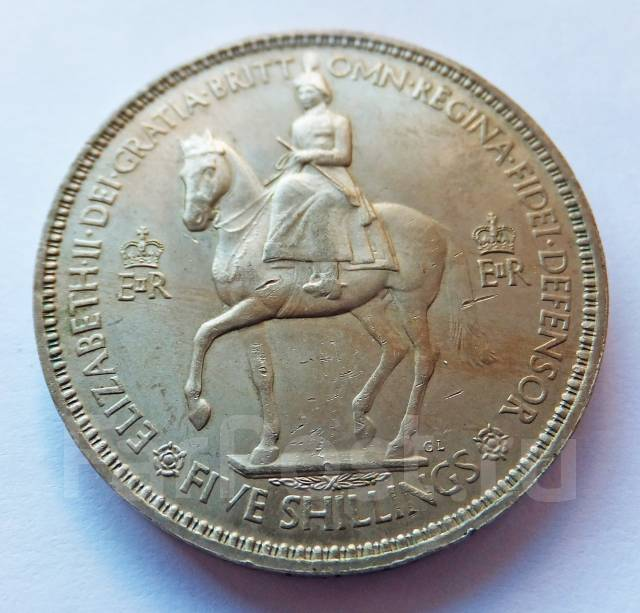 "Англия крона 1953 ""Коронация Елизаветы"""