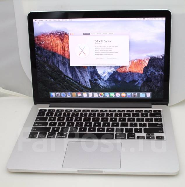 Apple Macbook Pro 13 Retina. WiFi, Bluetooth. Под заказ