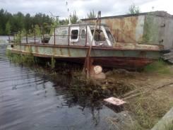 Костромской судомеханический завод. Год: 1997 год, длина 12,00м., двигатель стационарный, 240,00л.с., дизель