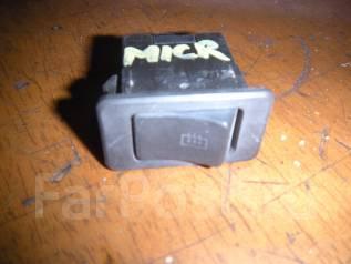 Кнопка включения обогрева. Nissan Micra, K10 Двигатели: MA10S, MA10