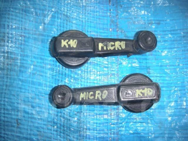 Ручка двери внутренняя. Nissan Micra, K10 Двигатели: MA10S, MA10