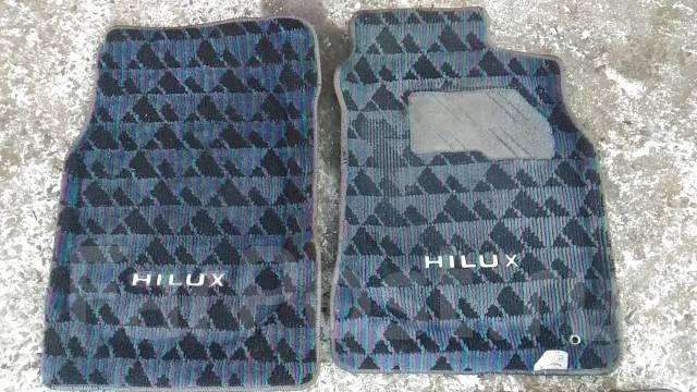 Коврик. Toyota Hilux Surf, KZN130W Двигатель 1KZTE