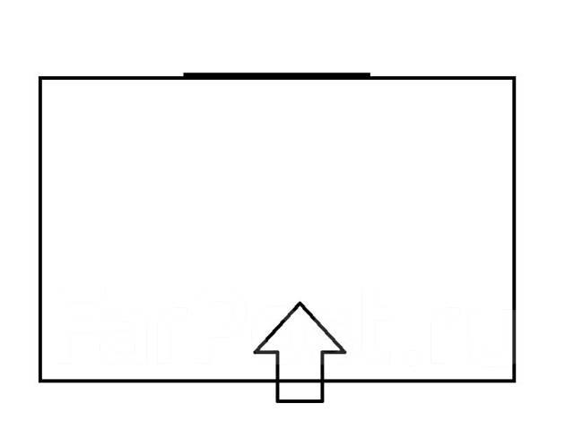 Комната, улица Гризодубовой 51. Борисенко, агентство, 12 кв.м. План квартиры