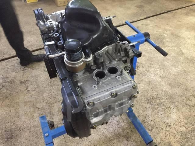 Блок цилиндров. Subaru Impreza Двигатель EJ207
