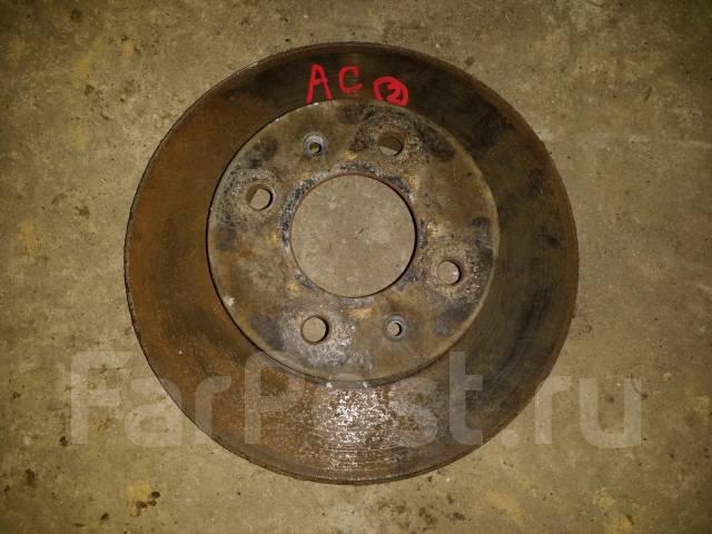 Диск тормозной. Hyundai Accent, Sedan Двигатели: G4ECG, G4EC