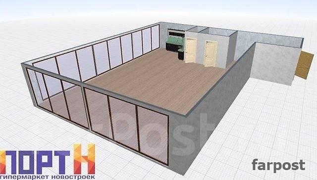 3-комнатная, улица Поселковая 3-я 15. Чуркин, агентство, 103 кв.м. Дизайн-проект