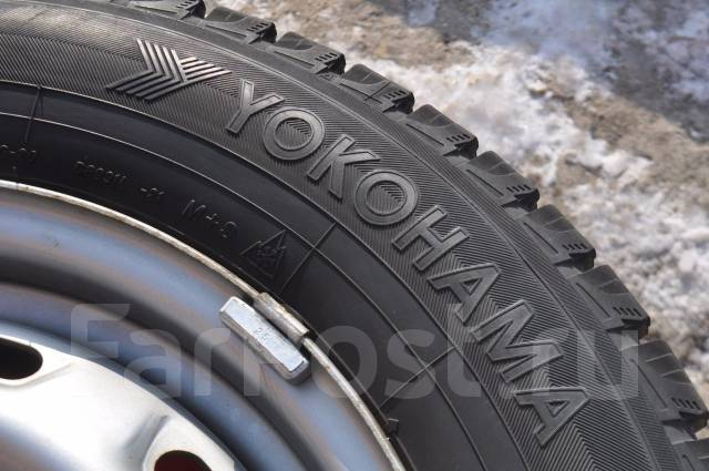 Yokohama Ice Guard IG20. Зимние, без шипов, 2011 год, износ: 10%, 4 шт