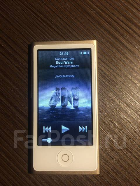 Apple iPod nano.