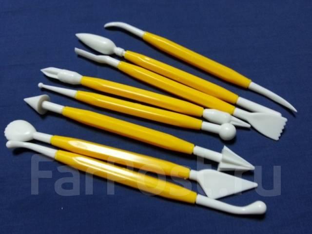 Набор инструментов для работы с мастикой и марципаном